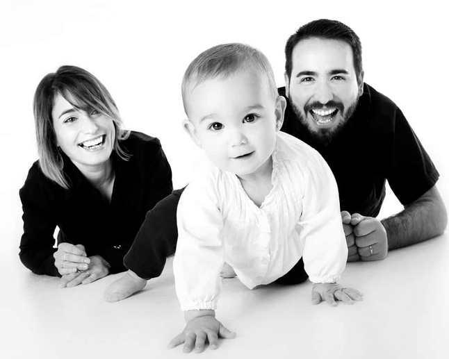 photo bébé et ses parents